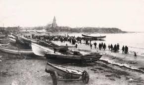 "Newbiggin-by-the-Sea, Launching the ""Ada Lewis"""