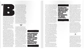 little white lies magazine layout don t like pull quote font but