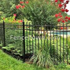 Residential Aluminum Fence Panels Aluminum Fencing Fencetown