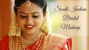 south indian bridal makeup tutorial
