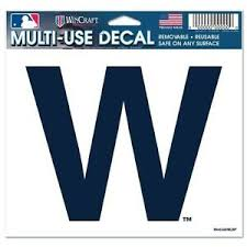 Chicago Cubs Auto Car Window 5x6 Color W Win Ultra Decal New Ebay