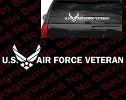 Us Air Force Retired Vinyl Decal Sticker For Car Window Windshield Af002 Large Rainbowlands Lk