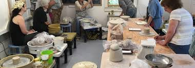 Gay Smith workshop at Truro Center for the Arts - John Snyder Pottery
