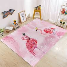 Colorful Unicorn Area Rug Living Room Floor Carpet Kids Play Mat Bedroom Rugs Home Garden Sisal Seagrass Area Rugs
