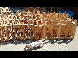 Diy Pallet Graveyard Fencing For Halloween Youtube