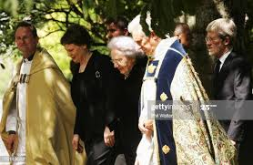 Dean of Auckland Ross Bay, Prime Minister Helen Clark, June, Lady... News  Photo - Getty Images