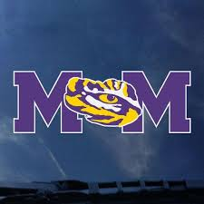 Lsu Mom Auto Decal Tiger People Clothiers