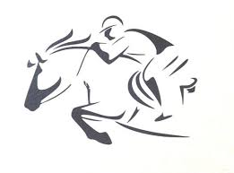 Eventing Horse Decal Jumping Horse And Rider By Wallsaretalking Eventing Horses Horse Silhouette Horse Designs