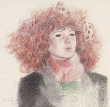 Adrian George (B. 1944)   Red Head   Paintings, Great Britain   Christie's