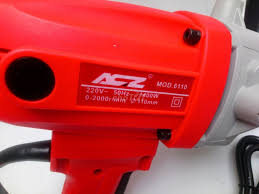 Máy khoan rút lõi cầm tay ACZ Model 6110-Công Suất - 74828979 - Chợ Tốt