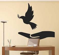 Dove Of Peace Wall Decal Tenstickers
