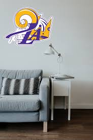 Los Angeles Dodgers Lakers Kings Mash Up Vinyl Decal Sticker 10 Size Sportz For Less