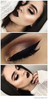 eye makeup dark cat eye makeup