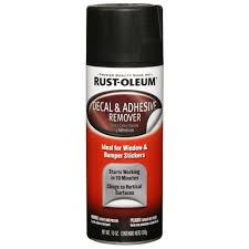 Rust Oleum Automotive 10 Oz Decal Adhesive Remover Spray 6 Pack 248879 The Home Depot