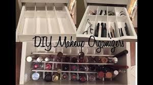 17 diys to make a makeup organizer