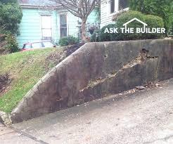retaining wall repair cost
