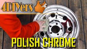 clean polish chrome wheels