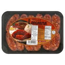 orientex sweet pork longanisa walmart