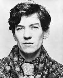 This is a picture of young Ian McKellen and I'm not sure how I ...