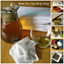 how to make diy body wraps at home