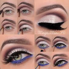 eye makeup that goes with a black dress