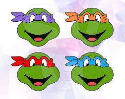 Leonardo Svg Teenage Mutant Ninja Turtles Dxf Png Eps Vector Etsy Detskie Kartinki Bumazhnye Shablony Illyustracii
