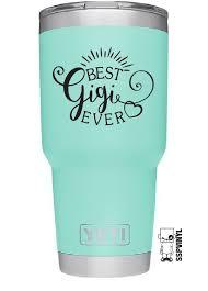 4 Best Gigi Ever Grandma Yeti Ozark Tumbler Cup Car Truck Window Decal Sticker Ebay Home Garden Yeti Cup Designs Custom Tumbler Cups Tumbler Decal