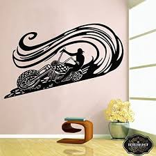 Amazon Com Wall Decal Motorcycle Decals Motorbike Decal Harley Wall Decal Harley Davidson Wall Decal T2104 Home Kitchen