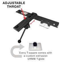 Adjustable T Square For Cabinet Saws Bandsaws Contractor Saws Extrusion Sold Separately Verysupercool Tools