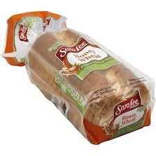 sara lee bread honey wheat ptacek s iga