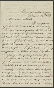 Letter from William Parker Johnson to Adela Johnson, June 16, 1863 ...