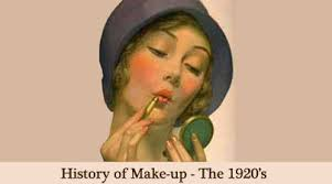 the history of 1920s makeup 1920 to