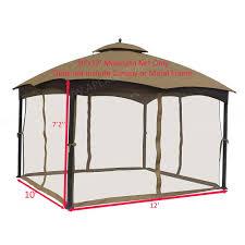 tan apex garden replacement canopy top