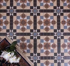 hyde park mosaic geometric pattern