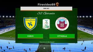 Pes 2020 Serie B • Chievo vs Cittadella • 36° Giornata - YouTube