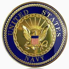 U S Navy Car Emblem Military Seal Auto Decal Badge Commemorative Gifts From Xsong At The Challenge Coin Store