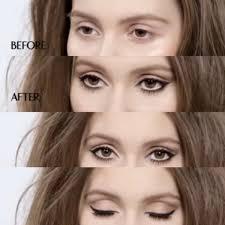 natural eye makeup for blue eyes step
