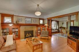 70 craftsman style living room ideas