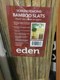 How To Attach Bamboo Fencing Onto Colorb Bunnings Workshop Community