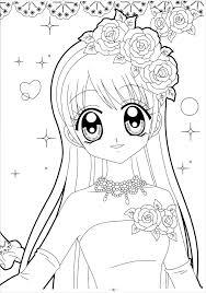 Top 20 bức tranh tô màu công chúa Chibi cho bé dưới 7 tuổi
