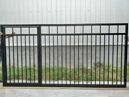 China High Quality Aluminum Sliding Gate Design Automatic Gate Metal Door Main Gate Garage Door Fence Gate China Aluminum Fence And Fence Gate Price