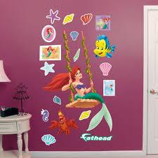 Fathead Disney Ariel Swinging Peel And Stick Wall Decal Wayfair
