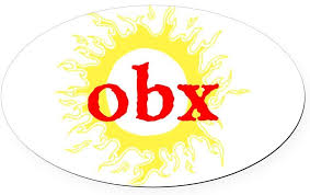 Amazon Com Cafepress Obx Outer Banks Nc Oval Car Magnet Euro Oval Magnetic Bumper Sticker Automotive