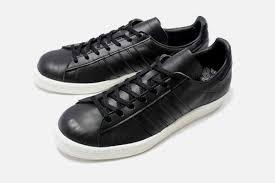 badass black leather sneakers adidas