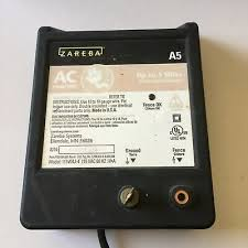 Zareba A5 Electric Fence Controller Used Ebay