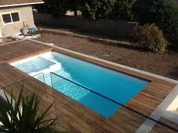 plunge pool swim spa spa combo