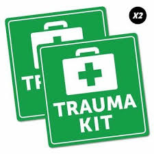 Trauma Queen Nurse Decal Emergency Rn Cross Clipboard Car Truck Window Sticker