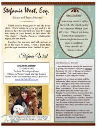 TrustStefanie - Newsletters