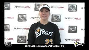 2022 Abby Edwards Catching and Third Base Softball Skills Video - Colorado  Stars - YouTube