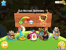 Angry Birds Epic Old Nesting Barrows Level 4 Walkthrough ...